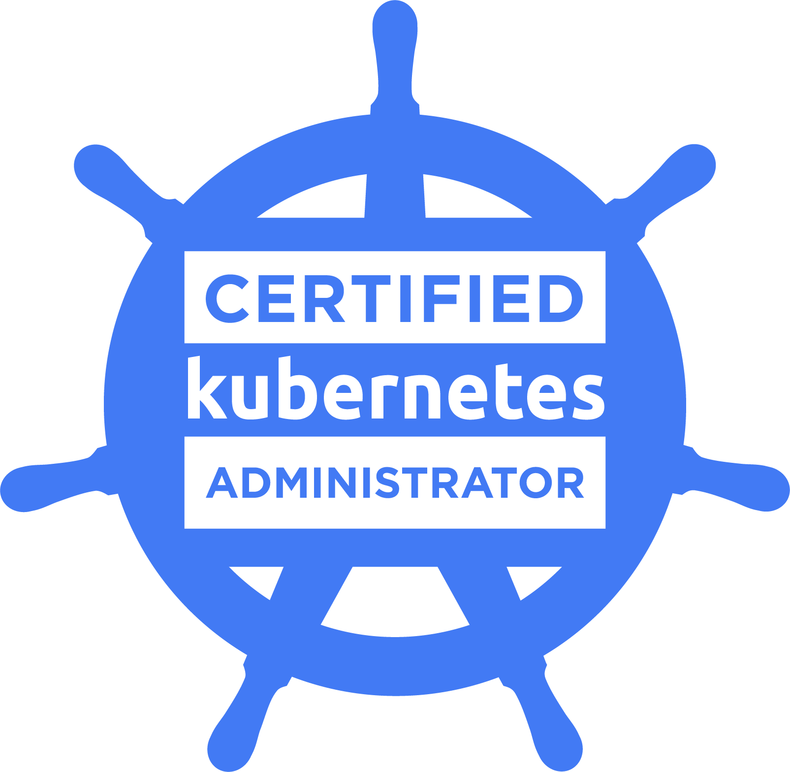 CKA Certified Kubernetes Administrator logo