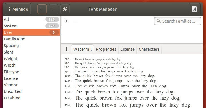 manage fonts tutorial