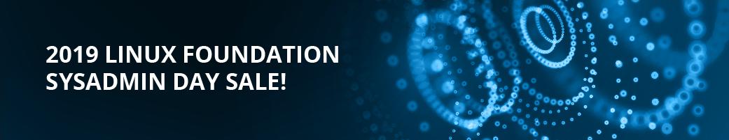 Linux Foundation Sysadmin Day Sale!