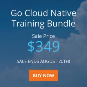 Go Cloud Native Training Bundle